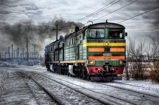 Výhody cestování vlakem